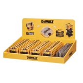 Display with 40 x 25 Piece PZ2 Screwdriver Bit Set & 40 Magnetic Bit Holders