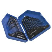 Metric/Imperial Hex Key Set, 30 Piece (0.7-10mm 0.028-3/8in)