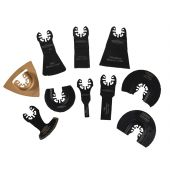 Multi-Function Tool Mixed Blade Set 10 Piece