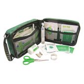 Household & Burns First Aid Kit, 45 Piece