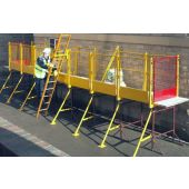 Steel Trestle Guardrail Systems